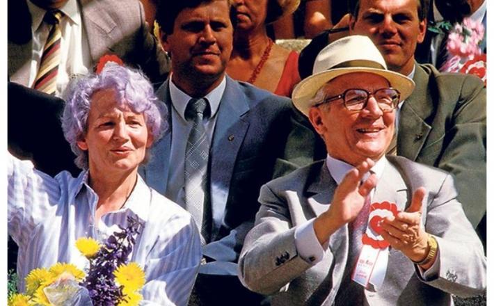 Honecker Margot in Erich