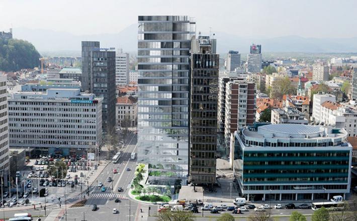 Ljubljanski hotel Intercontinental
