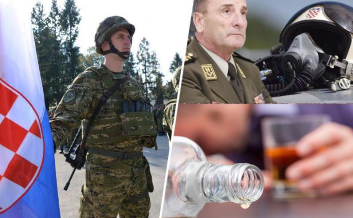 Hrvaška vojska in alkohol