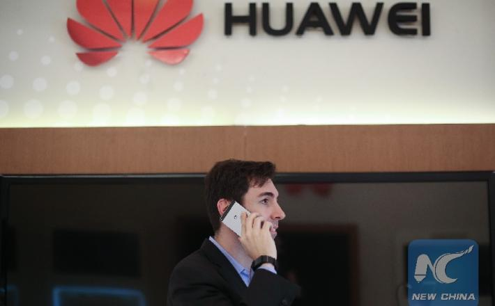 Huawei   Vir:Xinhua