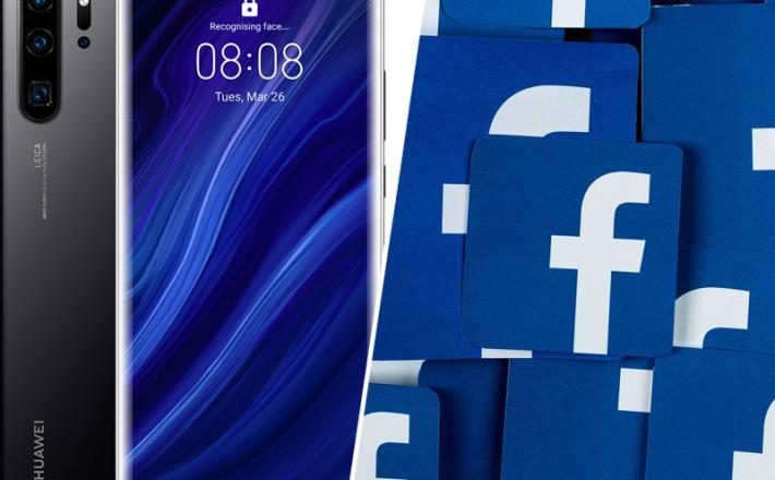 Huawei in Facebook