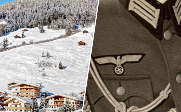 Nacistična uniforma in južnotirolski hoteli