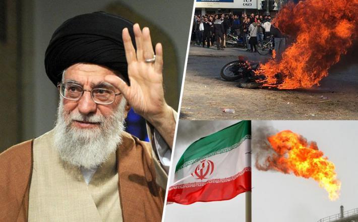 Hamnej je pozdravil dvig cen plina v Iranu - sledili so protesti