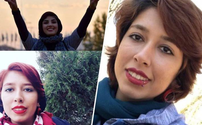 Iran - Sabi Kord Afshari, zaradi snetja hidžaba kaznovana Iranka