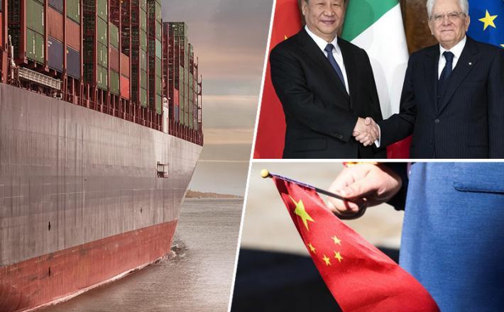 Italija, Kitajska, sodelovanje