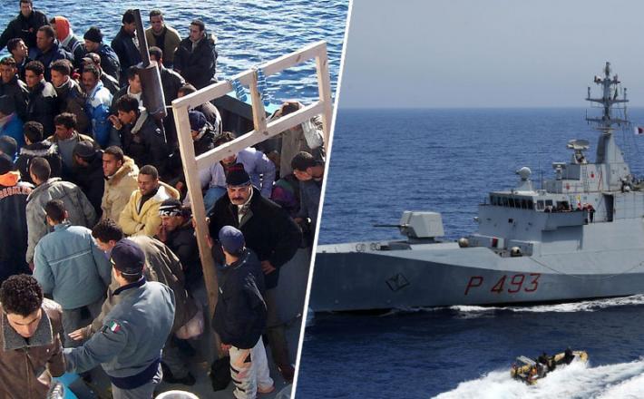 Italija pomorski migranti