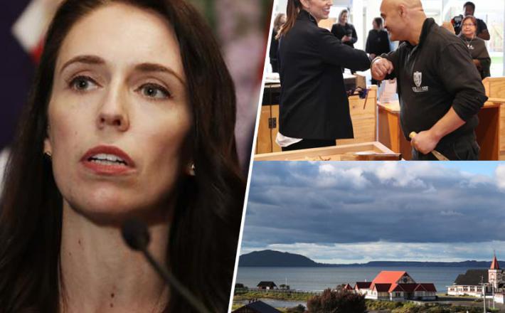 Jacinda Ahern in zagon Nove Zelandije