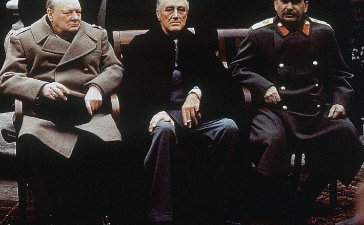 Jalta - veliki trije