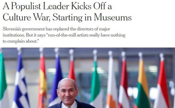 Janša in New York Times