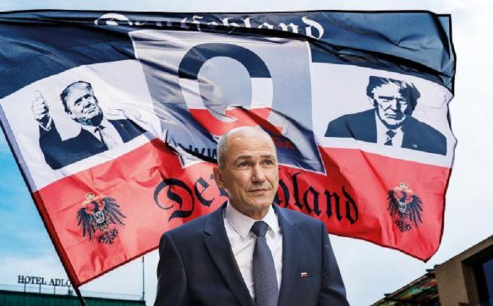 Janez Janša, propagandist teroristične grožnje v ZDA