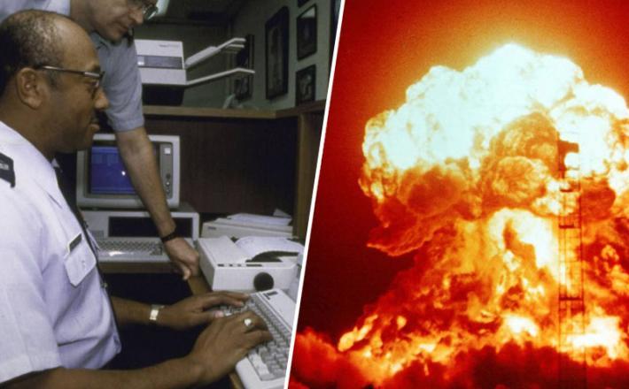 Vroča linija in jedrska eksplozija