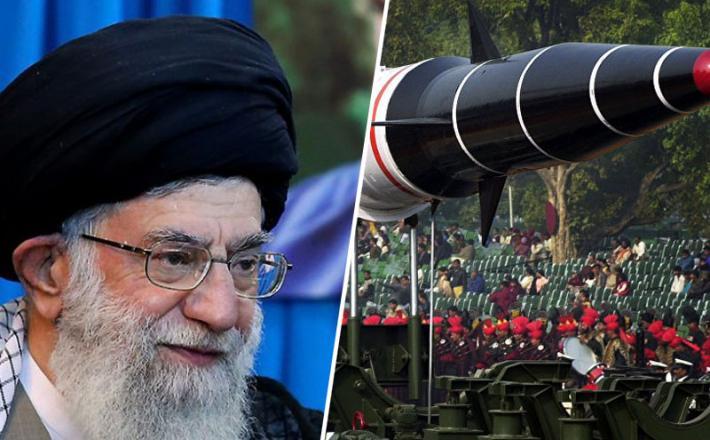 """Ali Hamnej in indijska """"jedrska"""" raketa Agni"""