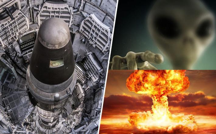Jedrske rakete izključujejo - nezemljani?