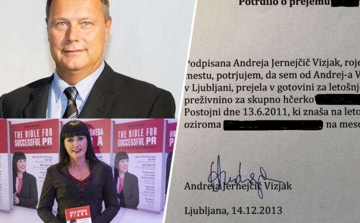 Andrej Vizjak in Andreja Jernejčič