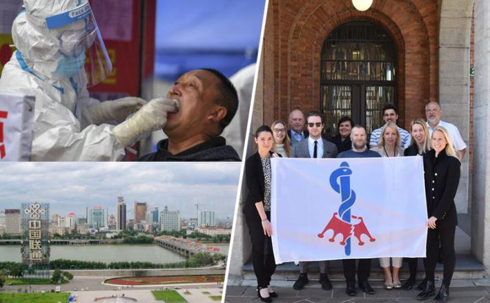 Zmaga v Sloveniji, nova nevarnost na Kitajskem