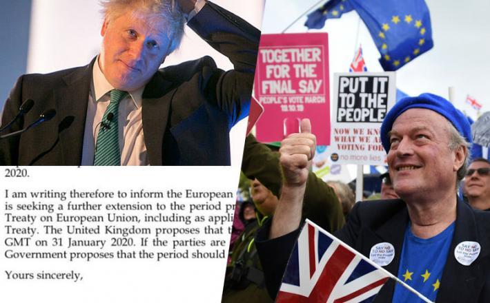 Johnson, nepodpisano pismo in zahteve po potrditvenem referendumu