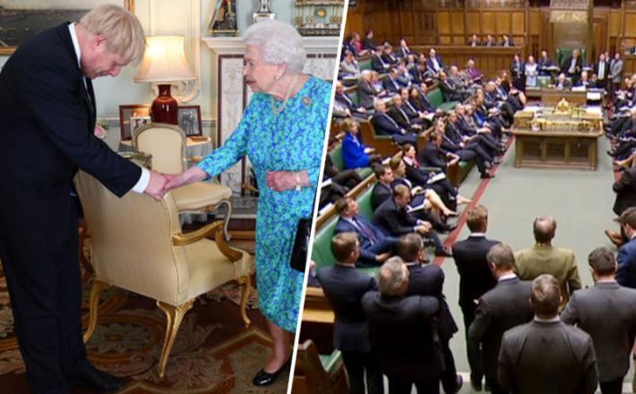 Johnson - opravičilo kraljici