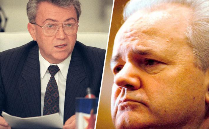 Borisav Jović in Slobodan Milošević