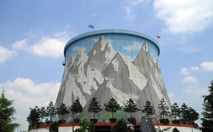 Jedrska elektrarna in zabaviščni park - Kalkar