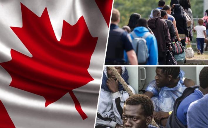 Kanada, migranti