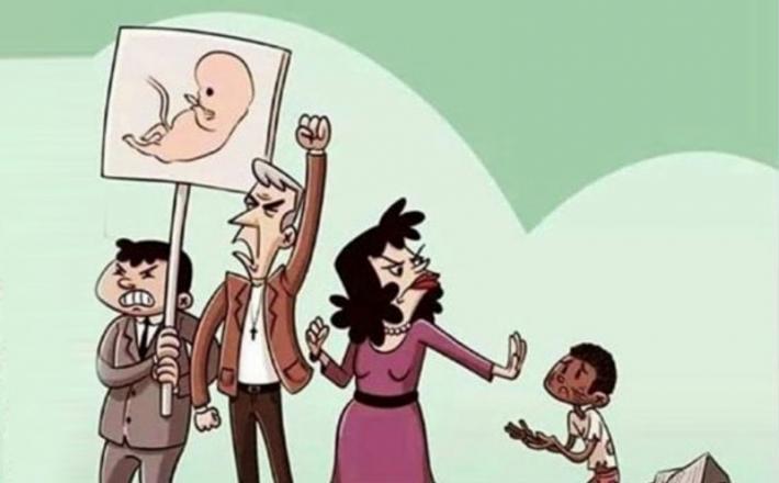 Karikatura splav