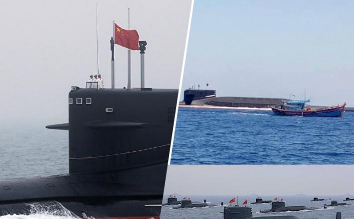 Kitajske jedrske podmornice