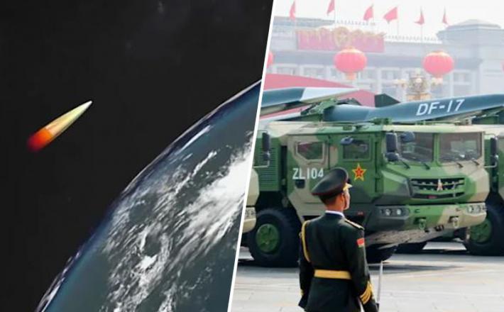 Kitajska supersonična raketa