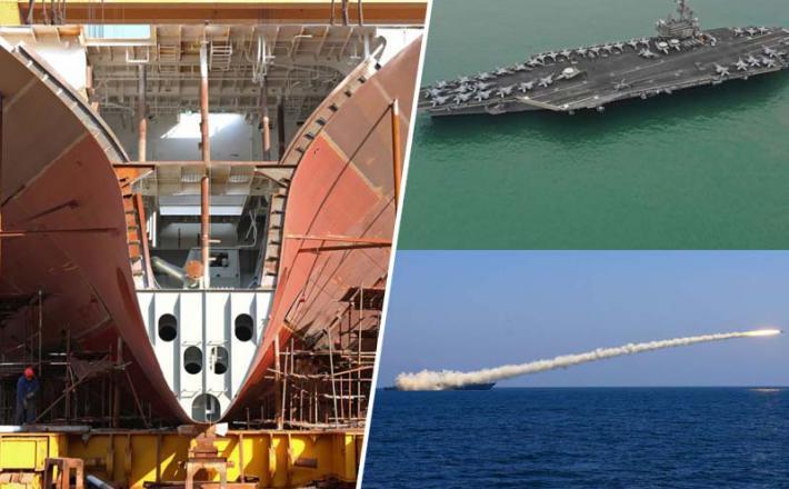 Kitajska vojaške ladje gradi hitreje od ZDA