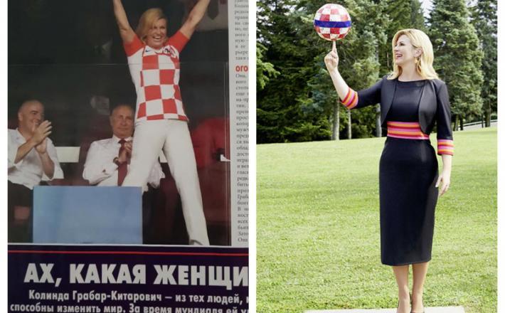 Kolinda Grabnar Kitarović - Marie Claire