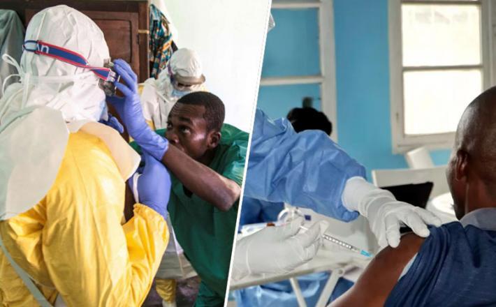 Kongo cepljenje / Ebola