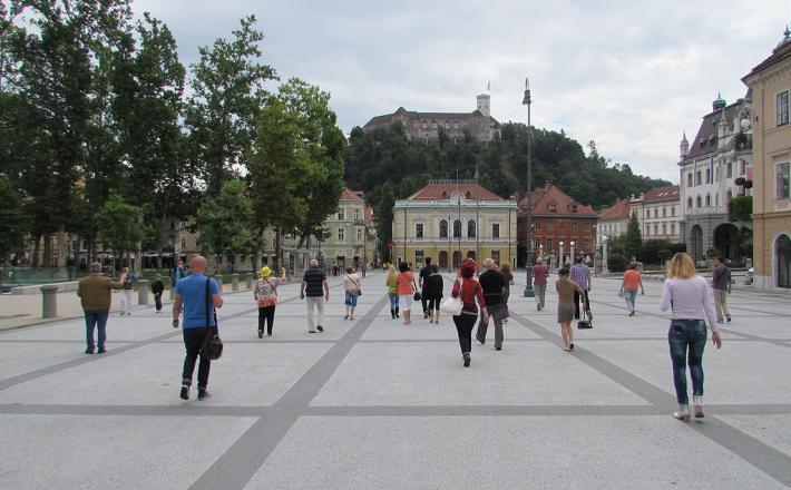Kongresni trg, Ljubljana, Ljubljanski grad