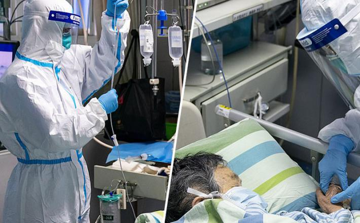 Koronavirus - zdravnik in pacient