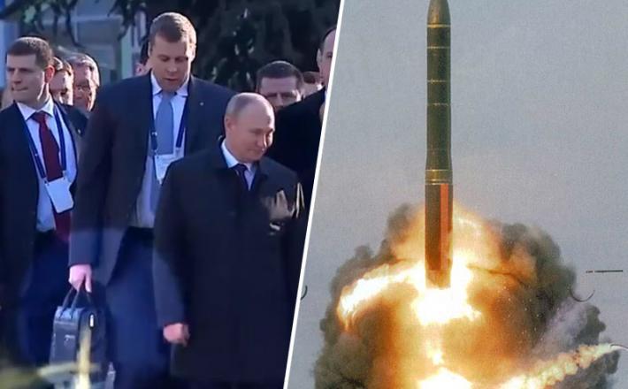 Putin-izstrelitev Topola - M