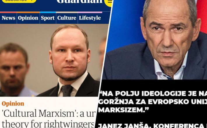 Janša in Breivik - ideološka siamska dvojčk?