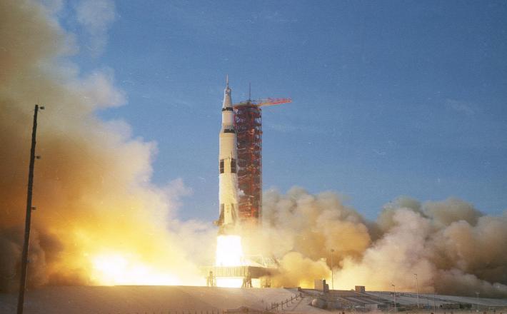 Vzlet Apolo 11