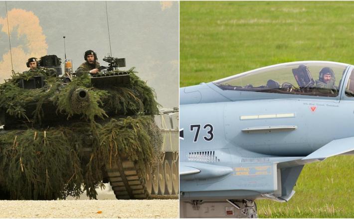 Leopard 2, Eurofighter Typhoon