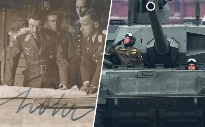 Dan zmage, Lohr in tank armata
