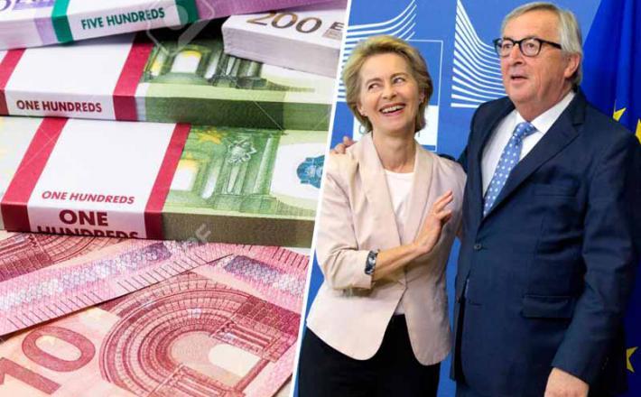 Von der Leyen in Jean Claude Juncker