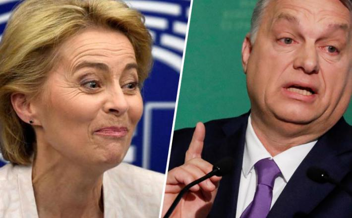 Orban in von der Leynova