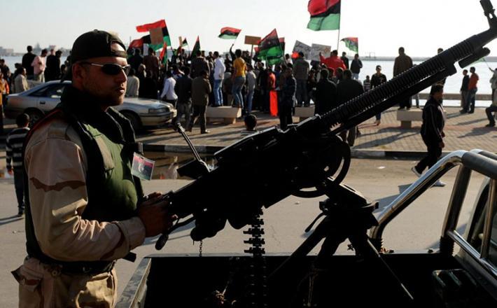 Libija - upornik | Vir: Pixell