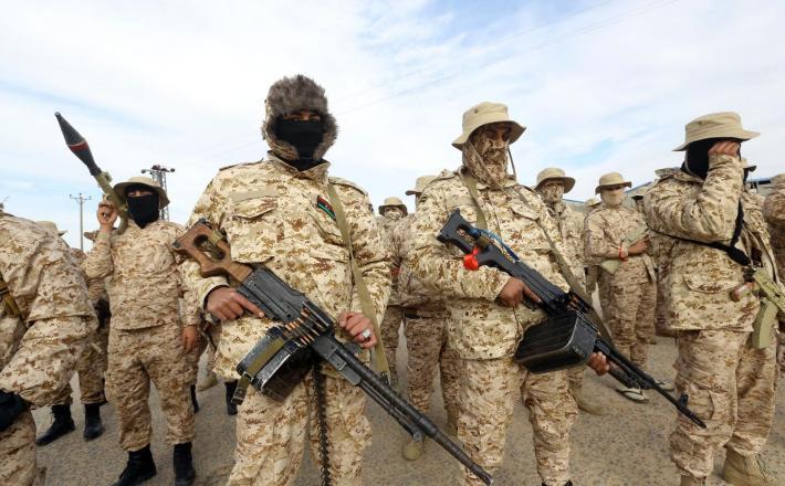Libija - vladne sile    Vir:Pixsell
