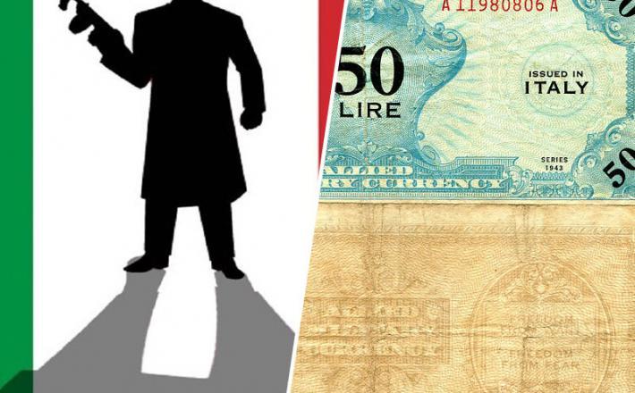 Mafija in lira