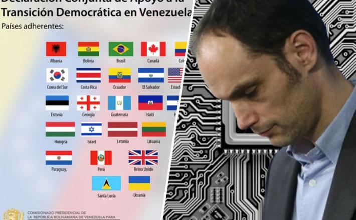 Logar pozabil priključiti Slovenijo koaliciji proti Venezueli