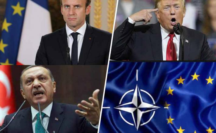Macron, Erdogan in Trump na vrhu zveze Nato