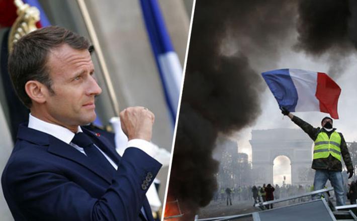Macron - rumeni jopiči