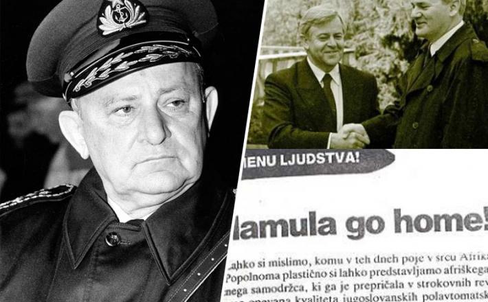 Mamula, Kučan in Milošević