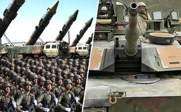 Kitajske protiladijske rakete in vojaki ter zadnji tanki marincev - zaradi obkoljevanja Kitajske