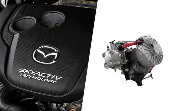 Mazda in Wankel motor