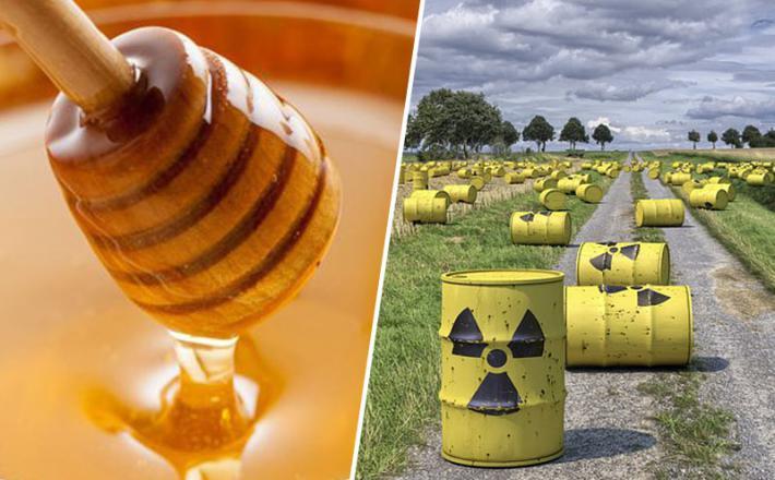 Med in radioaktivnost