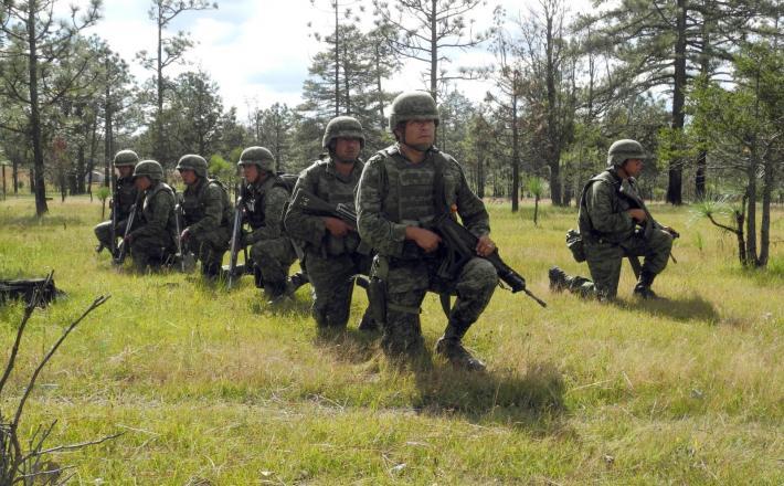 Mehiški vojaki    Vir:Pixsell